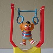 1980's Sesame Street Ernie Tricky Trapeze
