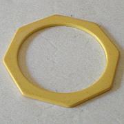 Golden Butterscotch Octagon BAKELITE Spacer Bracelet