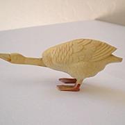 Vintage 1920's Celluloid Goose Head Bobber Nodder