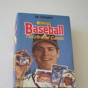 1988 Donruss Wax Box Baseball Cards