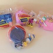 (4) Piece Set Disneyland Paris Mickey, Minnie, Donald & Daisy