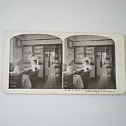 Early 1900's Stereoview Card Sears Roebuck