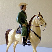 1950's Full Size Hartland Cowgirl Dale Evans & Buttermilk