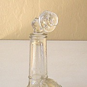 Large Victory Glass Candy Container Telephone