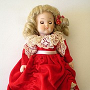 1980's Vogue Ginny Doll All Porcelain