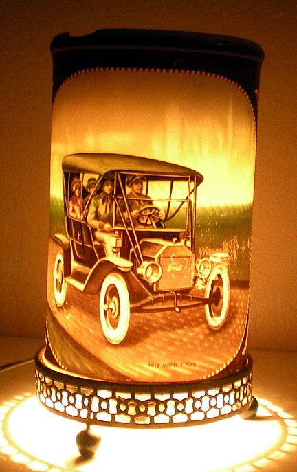 1957 Econolite Motion Lamp Cars Model T & Stutz