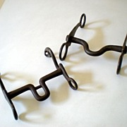 (2) Vintage Judd and North Horse Bits