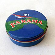 Vintage Panama Typewriter Ribbon Tin