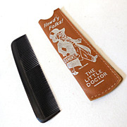 Vintage Ramon's Advertising Promotion Comb in Case