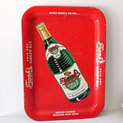 Scarce Frank's Ginger Ale Soda Pop Tin Tray