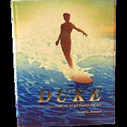 "1995 HB Book  ""Life Story of Duke Kahanamoku"""