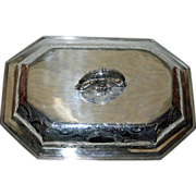 1795 Sterling Covered Dish by John Edwards, Georgian