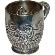 Antique Tiffany Sterling Child's Mug or Cup c. 1885