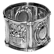 c. 1870 American Coin Silver Napkin Ring