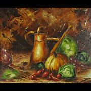 Claude Langevin (1942-) Canadian Artist Still Life Painting