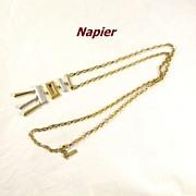 Vintage Modernist Napier Necklace