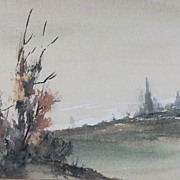 Splendid Landscape Watercolors by Artist L.Talbot