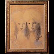 Leonor Fini (1908-1996) Coloured Lithograph S/N Limited Edition