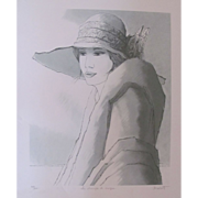 Bernard Modeste Wonderful Lithography by Listed Artist