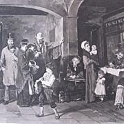 Photogravure by Gebbie & Co from a painting of M. Munkacsy