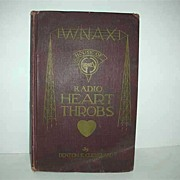WNAX  Radio Heart Throbs 1929 Book by Pastor Cleveland