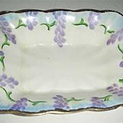 Painted Grape Prince Albert rectangle dish