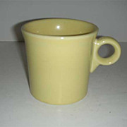 Fiesta  HLC  sunflower yellow handled mug