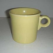 Fiesta  HLC  sunflower yellow handled mug