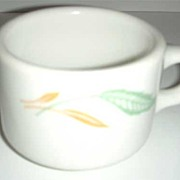 Homer Laughlin  Restaurant Leaf  Cup