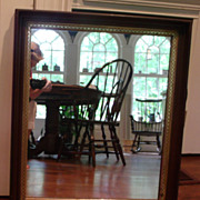 Antique Mahogany Victorian Mirror