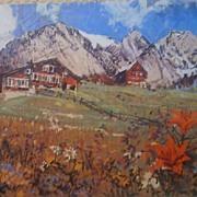 Swiss Lodge Luberon Mountains