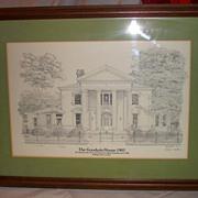 Historic Goodwin House 1903 Raleigh, N. C.