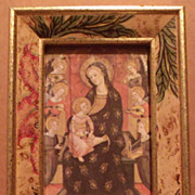 Madonna and Child Miniature Picture