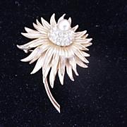 Exquisite Boucher Flower Pin/Brooch