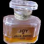 Jean Patou JOY Perfume Bottle