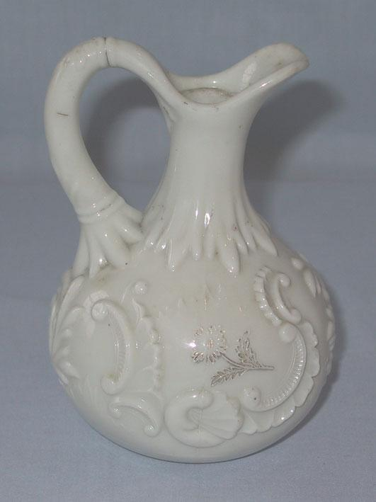 Louis XV Custard Glass Cruet