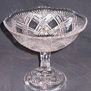 REDUCED High Standard  Large Tacoma Round Foot Open Compote