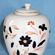 Porcelain Ginger Jar with Imari Decoration