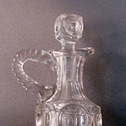 Model Flint K.P. or Model Bullseye Oil Cruet