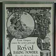 Royal Baking Powder 1908 Ladies Home Journal Advertising