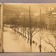 Unused RPPC of flooded city street