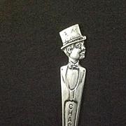 Duchess Silverplate Charlie McCarthy Souvenir Spoon