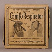 Box of Felt Screens for Comfo Respirator
