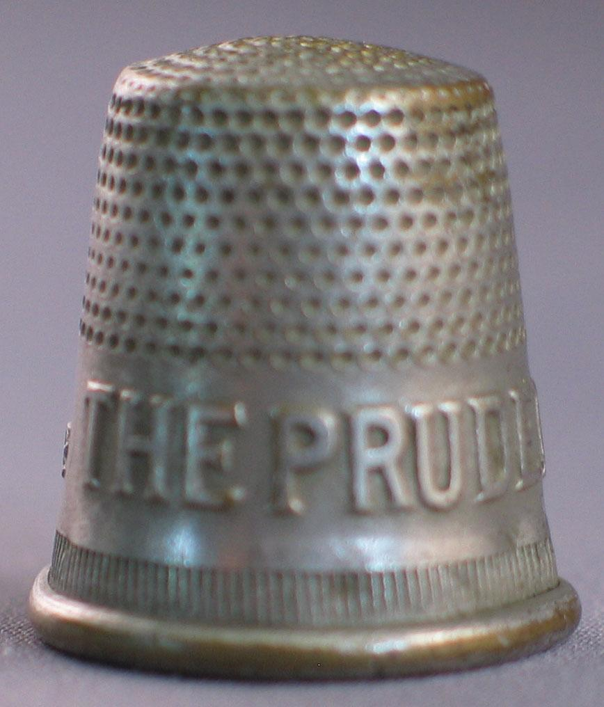 Advertising Thimble  The Prudential Life Insurance Co.
