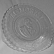 Garfield Memorial Bread Plate