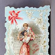 SALE Folding Valentine Card