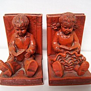Childrens Bookends Grimms Fairytales
