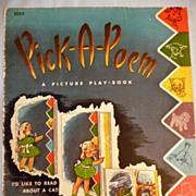 Vintage Linen Children's Book