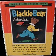 1935 Blackie Bear Stories, Whitman Publishing Company