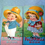 Billy Bingle and Polly Pringle Children's Books